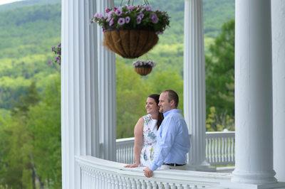 Mount Washington Omni Resort Engagement Photography