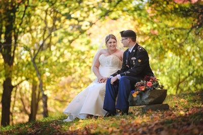 Fall Wedding at Three Chimneys Inn, Durham, NH