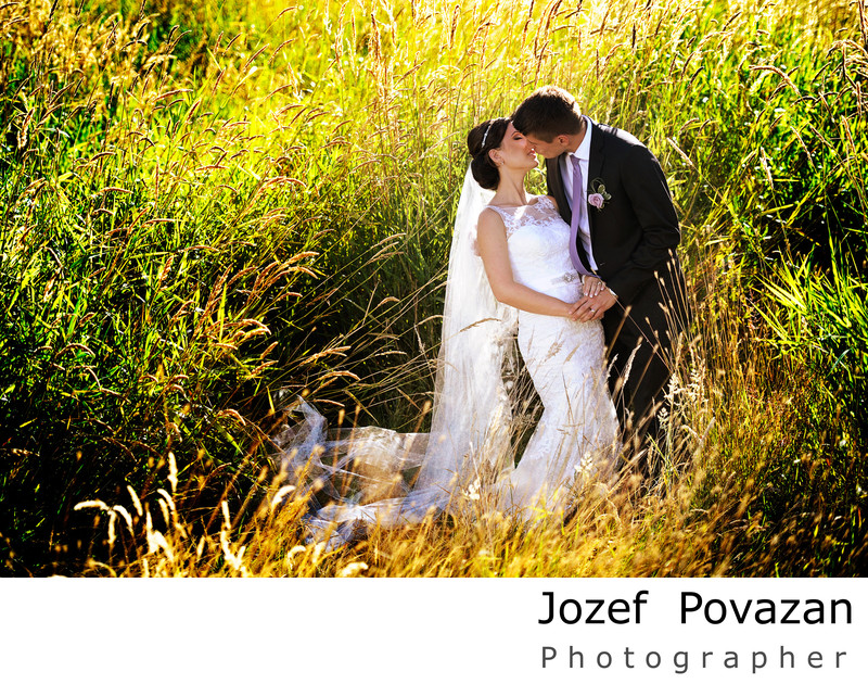 boundary bay park wedding portrait