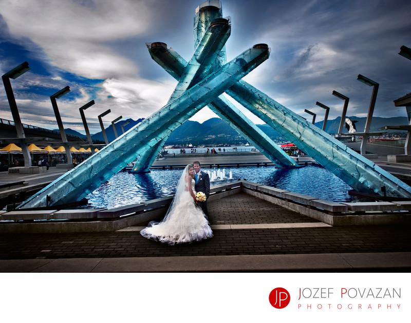Vancouver Jewish Synagogue wedding photographer
