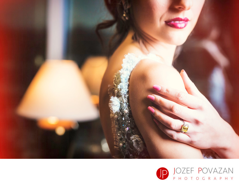 Glamour Pan Pacific Hotel wedding editorial session