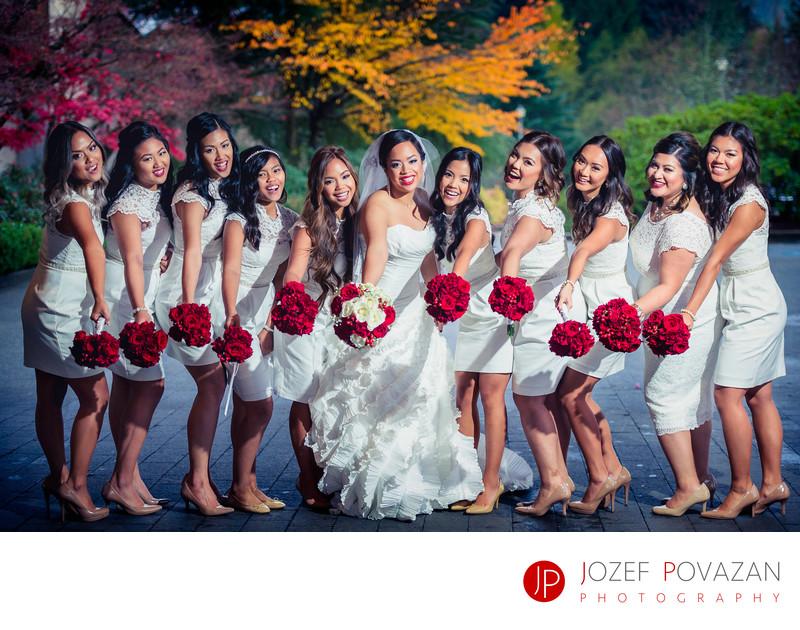Filipino wedding pics by Vancouver wedding photographer