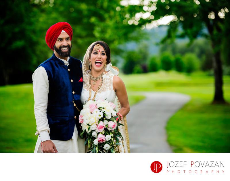 Swan-E-Eet Wedding photos gorges Indian Sikh ceremony