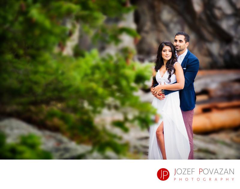 Lighthouse Park West Vancouver pre wedding formals