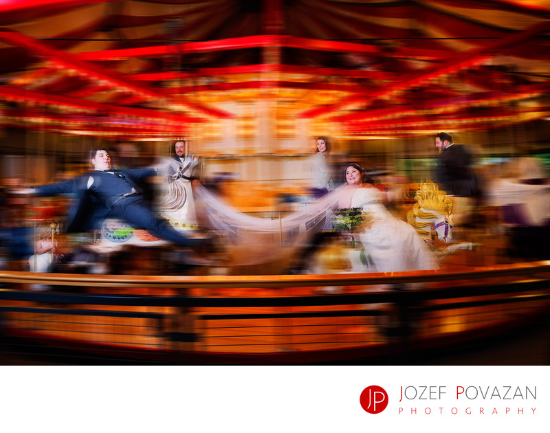 Hart House Burnaby Museum Carousel wedding pictures fun