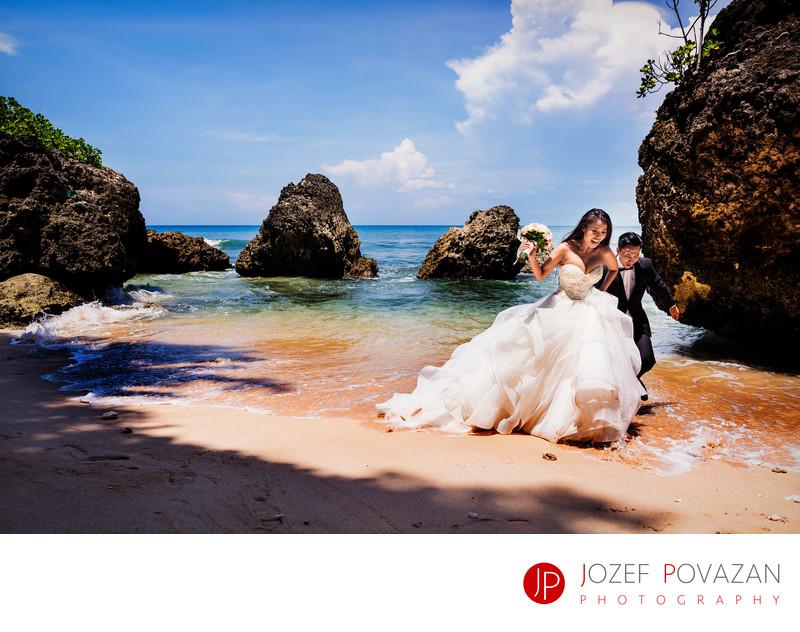 Bali wedding photographer Ayana villa venue Rock Bar