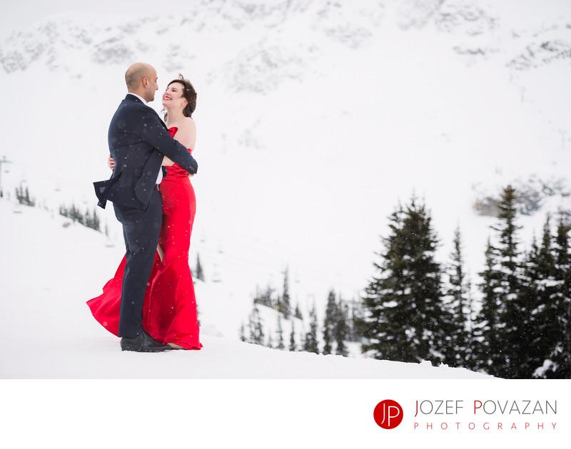 Whistler wedding photographer Povazan Photography