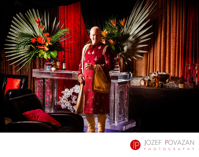 Pan Pacific Crystal Ballroom Mehndi Wedding Reception