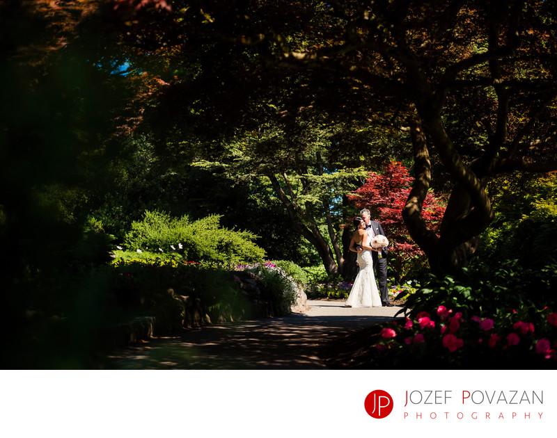 Vancouver Queen Elizabeth Pavilion Wedding Photographer