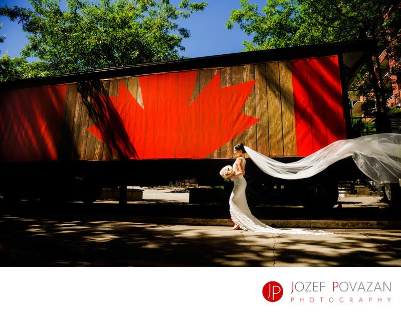 Vancouver Roundhouse Wedding Photographer Jozef Povazan