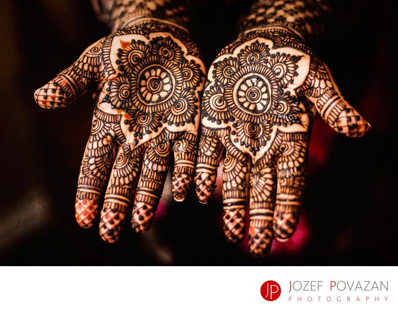 Mehndi Hena wedding party Ismaili centre hands details