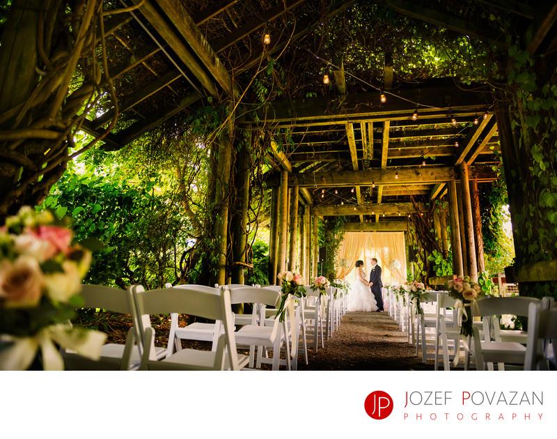 UBC Botanical Garden Arboretum Wedding Photographers