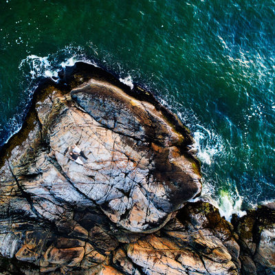 Drone Pre Wedding Engagement Pictures Lighthouse Park