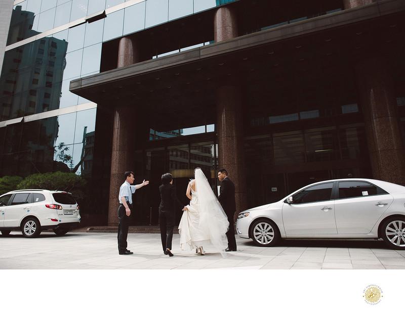 The Bailey House Wedding Photographer in Korea