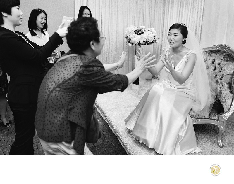Destination Wedding Photographer in Korea