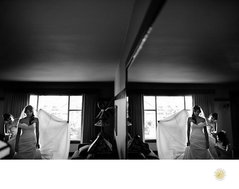 Creative Disneyland Wedding Photographer