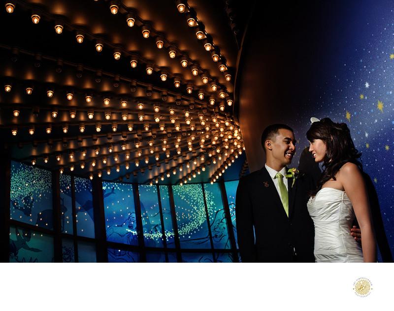 Disneyland Wedding at the Animation Studio