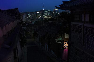 Seoul Korea Destination Wedding Photographer