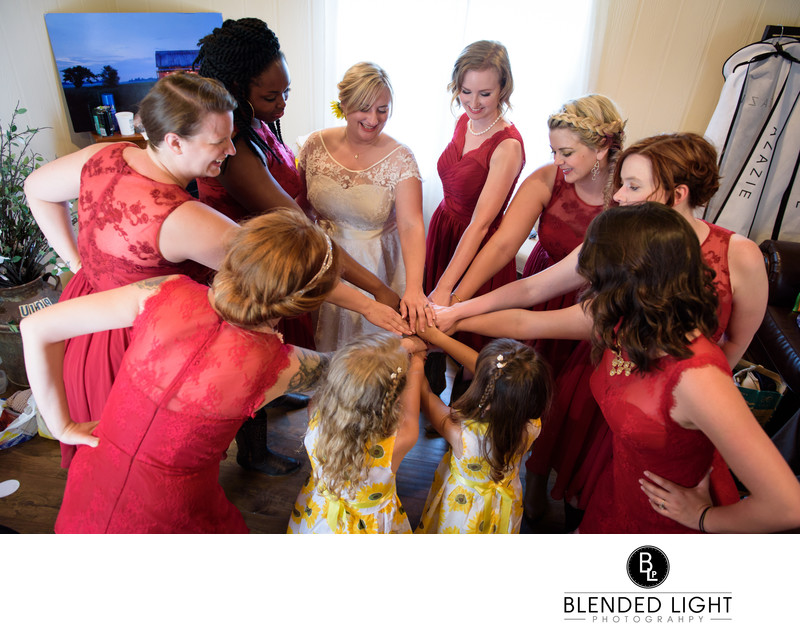 Starlight meadows bridal party Greensboro