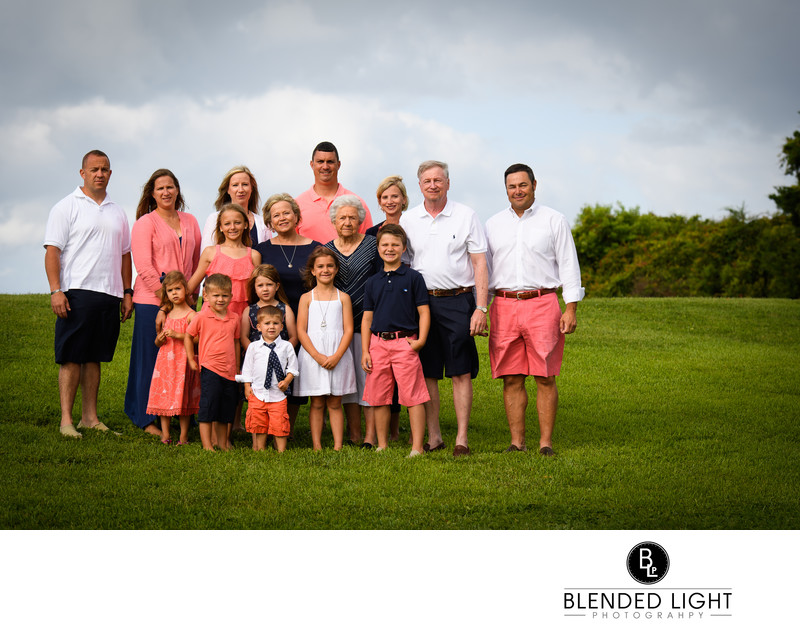 Atlantic Beach Large family portrait