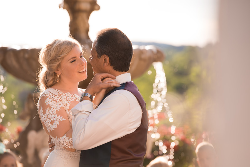 Worman Patio Wedding Photograph
