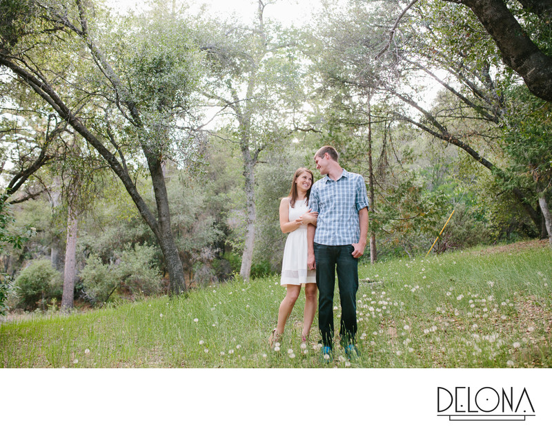 Oakhurst Engagement Photos