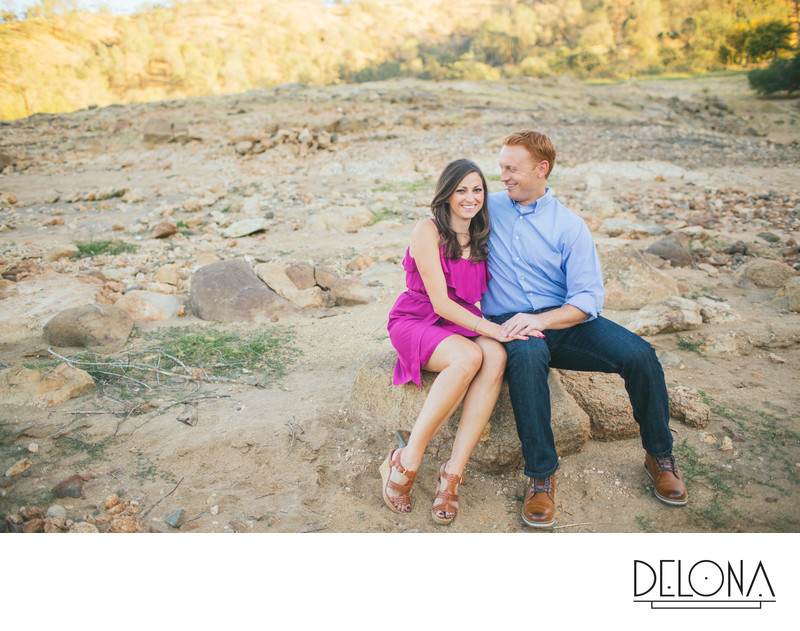 Millerton Lake Engagement Photographer