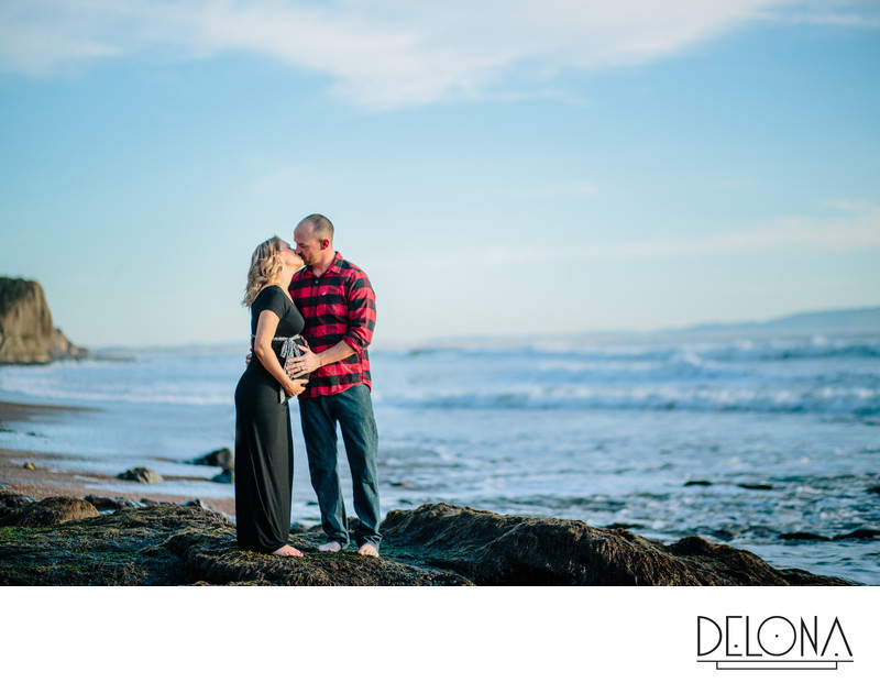 Avila Beach Maternity Photos