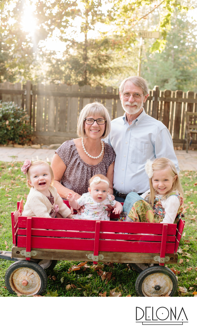 Central Valley Extended Family Photographer