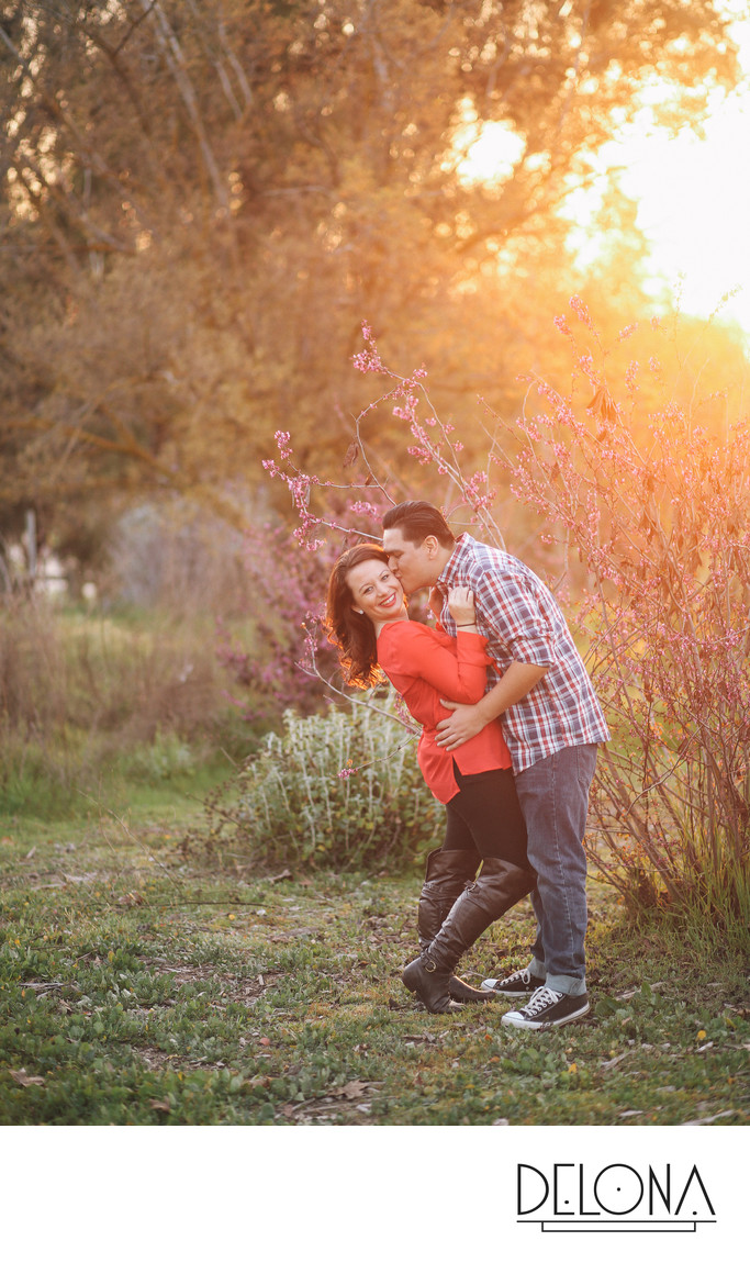 Fresno Woodward Park Engagement Session