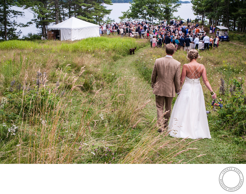 Garden Wedding in Freeport