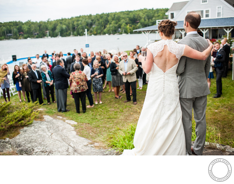 Fun Wedding Photographer in Maine