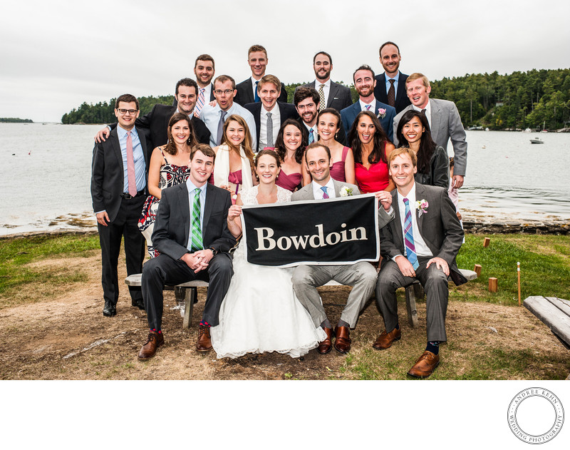 Bowdoin Wedding Photo