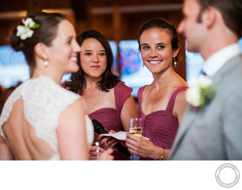 Linekin Bay Resort Outdoor Wedding