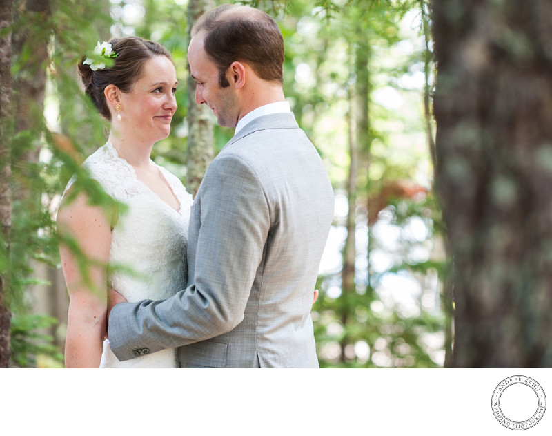 Garden Wedding at Linekin Bay Resort