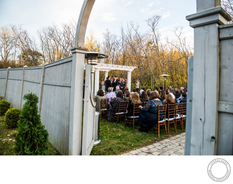 Gay Garden Wedding in Portland, Maine