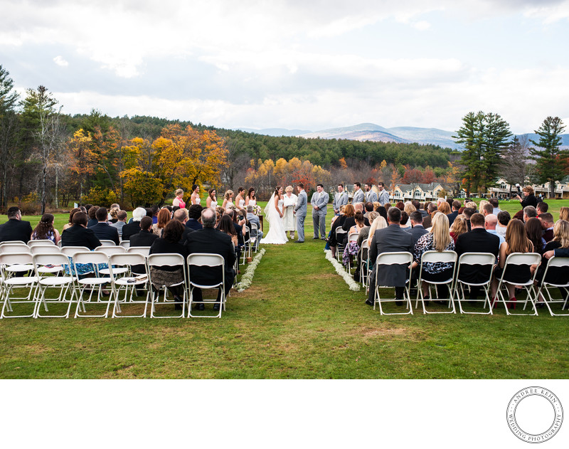 Best Bethel, Maine Outdoor Wedding Locion