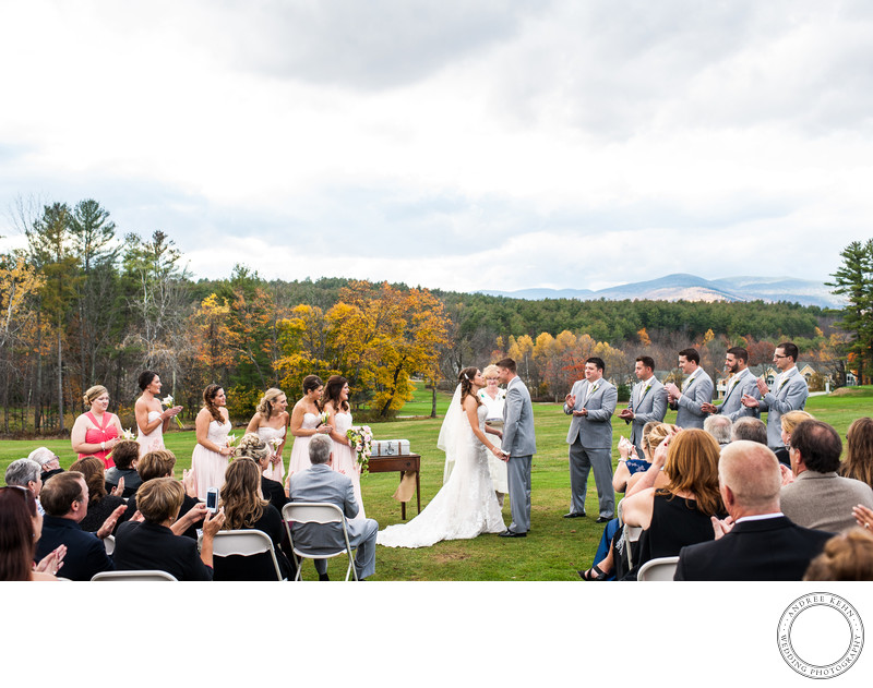 Wedding Ceremony in Bethel, Maine