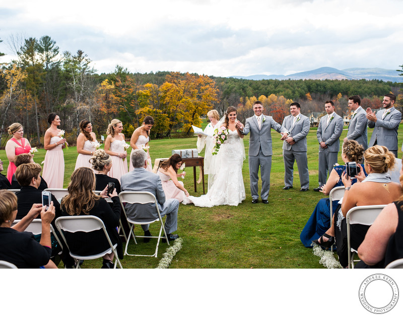 Garden Weddings in Bethel, Maine