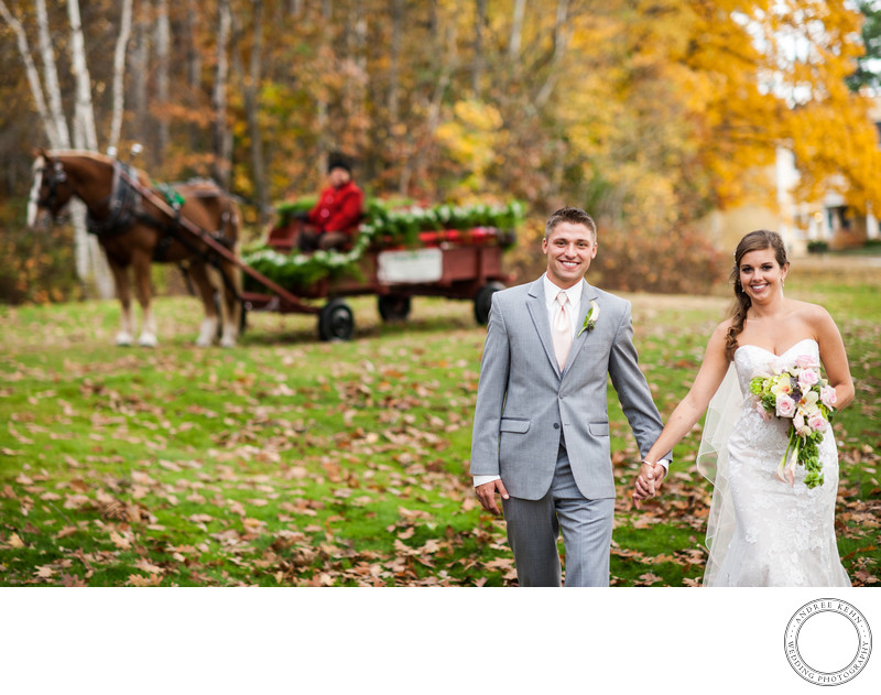 Wedding Photographer for Bethel Inn