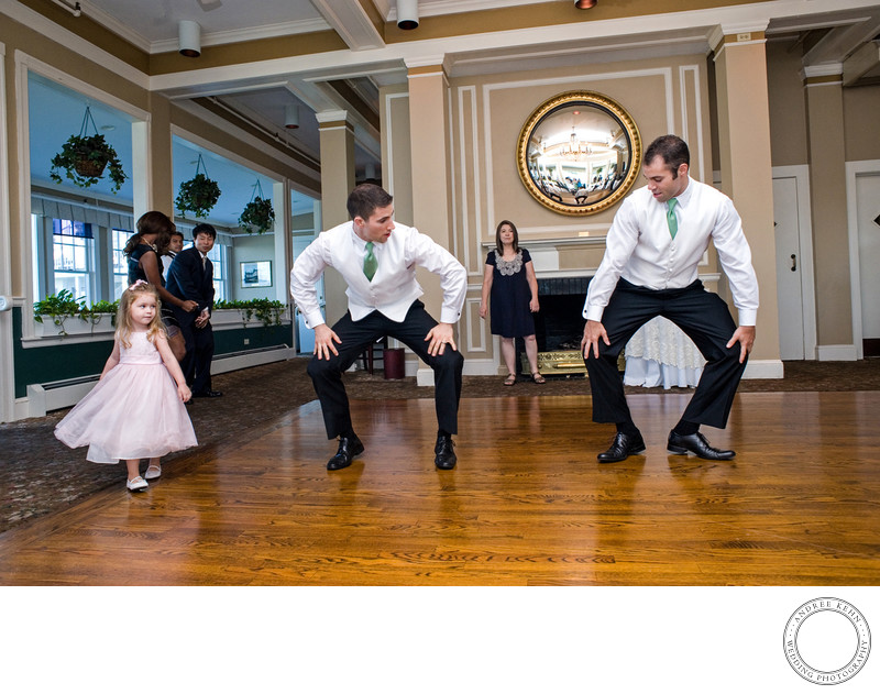 Wedding dancing