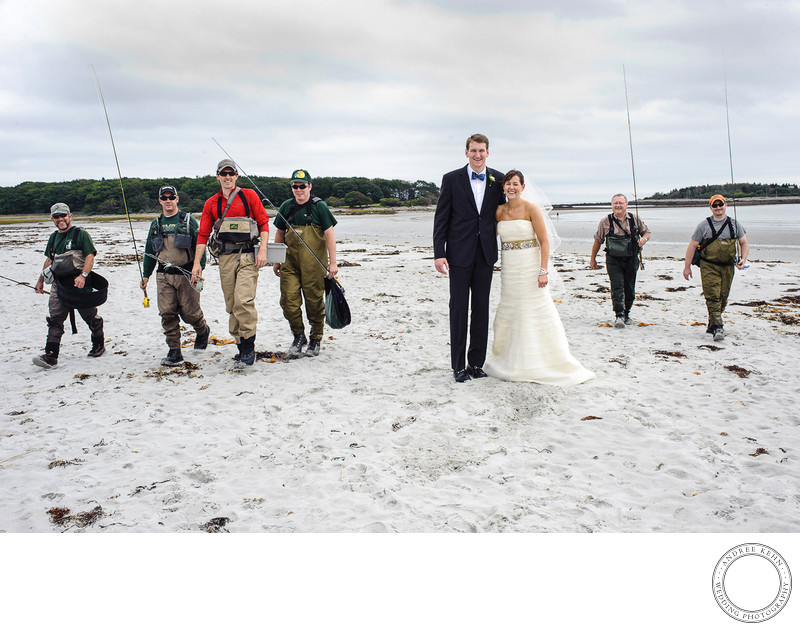 Ironic wedding photography