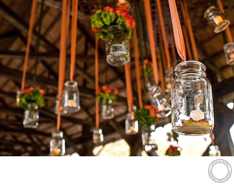 Mason Jars at Weddings