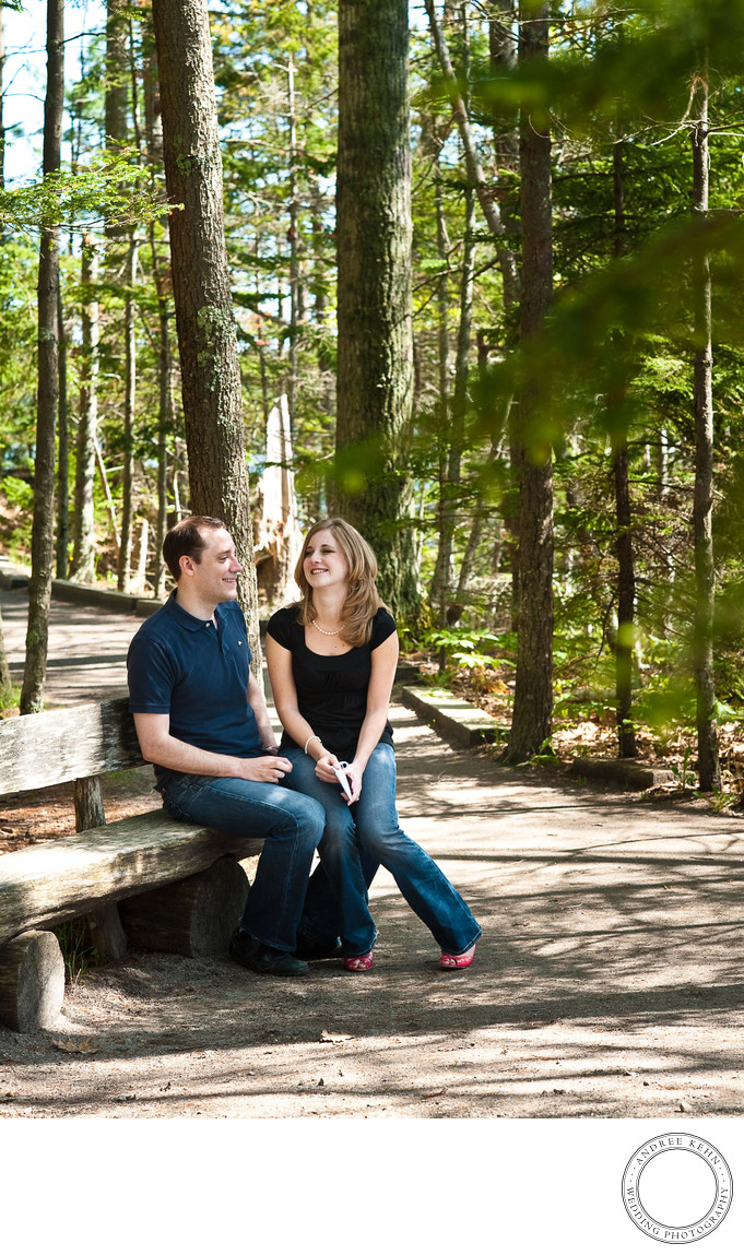 Freeport Maine engagement location
