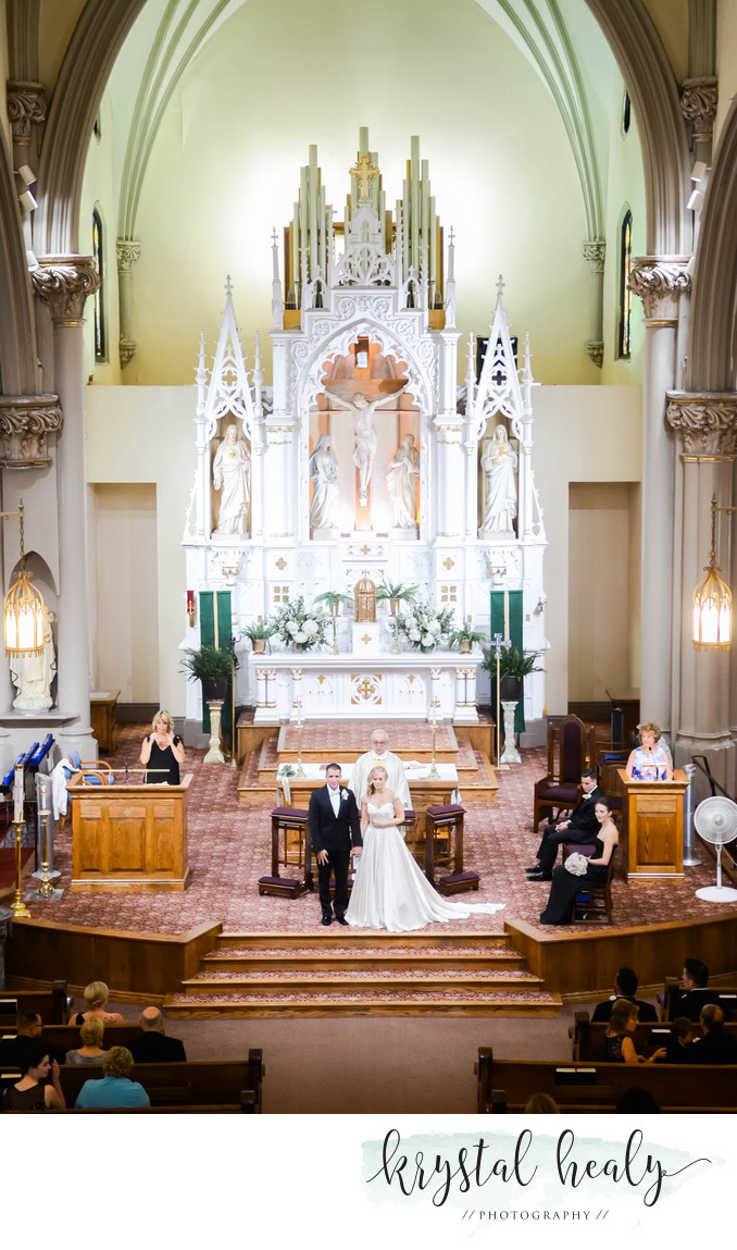 St. Mary's of the Mount - Pittsburgh Wedding Ceremony