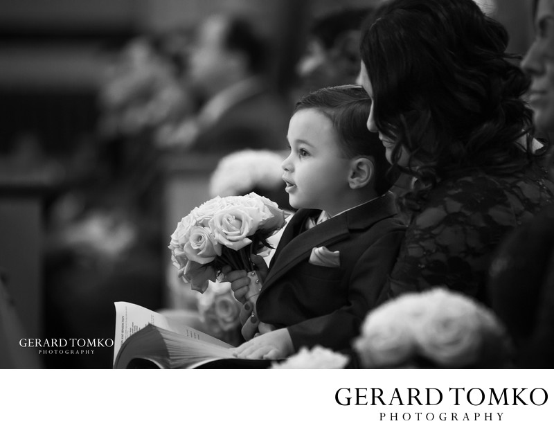 best ring bearer wedding photo
