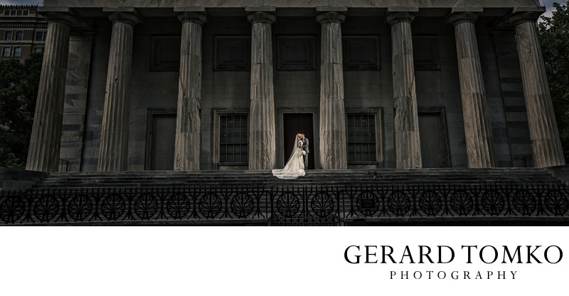 Wedding Picture at Second Bank in Philadelphia