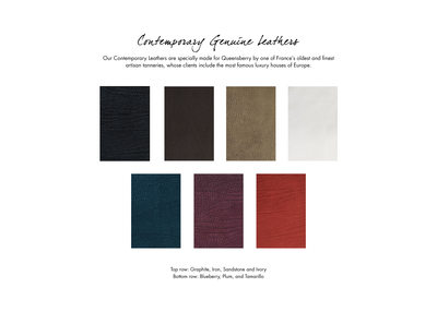 Contemporary genuine Leathers