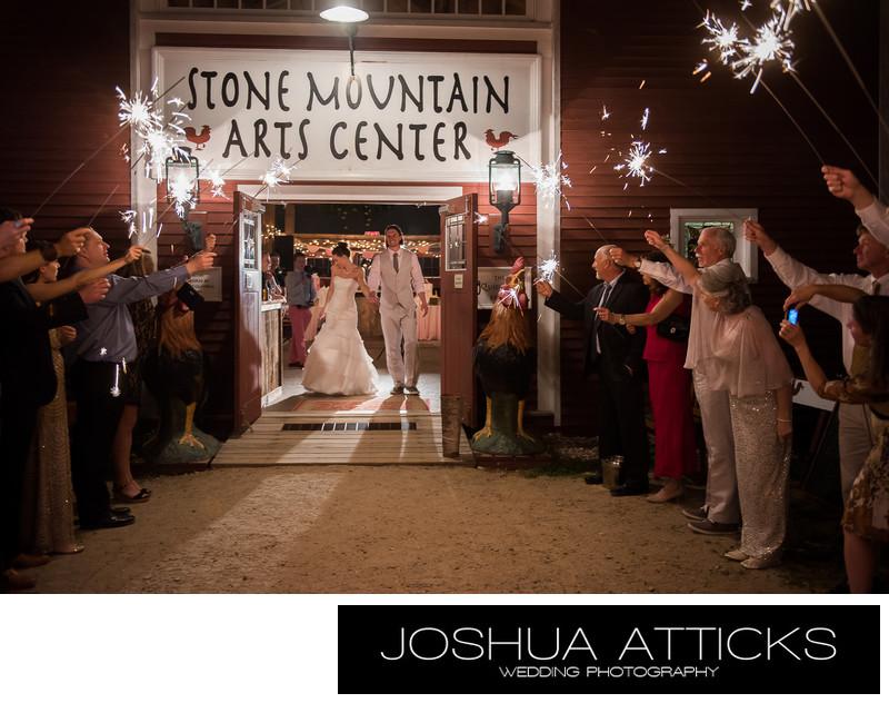 Wedding at the Stone Mountain Arts Center