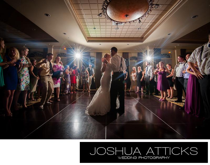 The Dance Union Bluff Wedding York